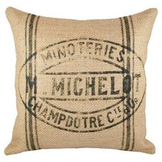 I pinned this from the French Farmhouse - Provencal-Chic Pillows, Rugs, Throws & More event at Joss and Main!