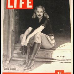 Love this old Life Magazine cover <3