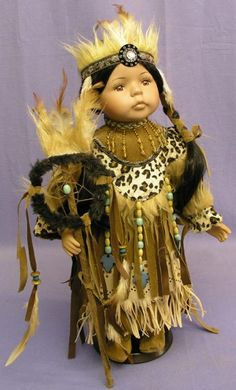 indian dolls with dreamcatchers
