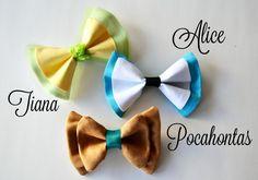 Disney Princess (and Villian) Inspired Hair Bows - Simple Simon and Company