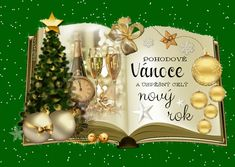vanoce_vanocni_prani Happy Birthday Pictures, Merry Christmas, Christmas Ornaments, Cute Images, Santa, Place Card Holders, Table Decorations, Wallpaper, Holiday Decor