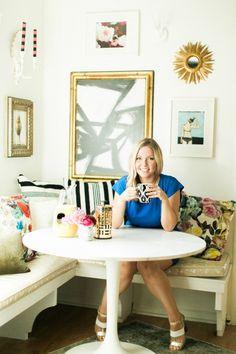Kristin Jackson Of The Hunted Interior's Home Tour via @glitterguide