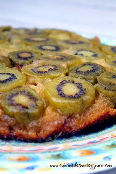 Le Goûter du dimanche : Gâteau renversé aux kiwis | Cuisine de tous les jours