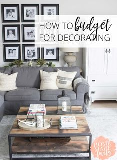 How To Budget For Decorating So You Donu0027t Overspend