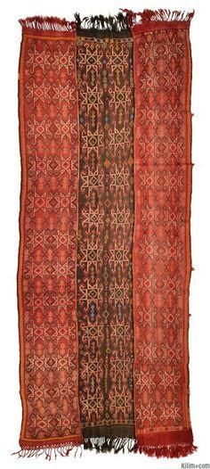 Vintage Sivas Kilim around 50 years old from Kilim.com.