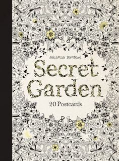 Secret Garden: 20 Postcards by Johanna Basford http://smile.amazon.com/dp/1856699463/ref=cm_sw_r_pi_dp_8uuhvb03PMGSC