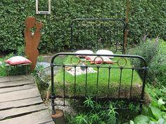 Ein Bett im Garten - Gärtnerei Picker Borken
