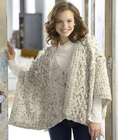 Aran Knit Wrap