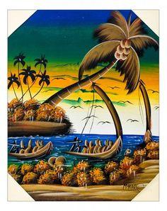 Quadro raffigurante un meraviglioso paesaggio marino all' imbrunire. Tecnica acrilico su tela. Già montato su telaio in legno. Dimensioni 50 x 60 (approssimaz. 1-2 cm)  http://www.solohechoamano.it/store/quadri/quadri-caraibi-rep-dominicana-haiti/quadro-paesaggio-marino-121.html