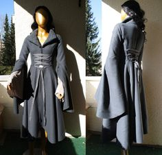 gown Riding coat Arwen The Lord of the Rings costume by VoltoNero