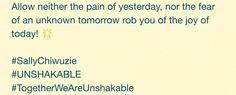 https://plus.google.com/+SallyChiwuzie/posts/UxoNMTxZVa  #SallyChiwuzie #sallychiwuzie.com #UNSHAKABLE #TogetherWeAreUnshakable