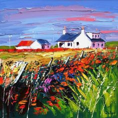 Lynn RODGIE artist, paintings and art at the Red Rag Scottish Art Gallery