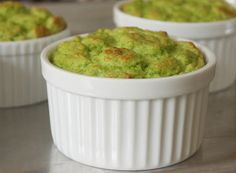 "Asparagus Soufflé - ""Broccoli, artichokes, leeks, spinach, or any other edible plant you can puree, should work with the same basic procedure. You can also play around with your cheese options..."""