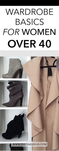 Wardrobe Basics for Women Over 40 | Wardrobe Basics for Women Over 50 | Wardrobe Basics for Women | Wardrobe Basics | Wardrobe Basics List