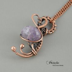 Infinity - necklace with pendant