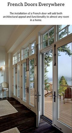 White French Doors I Plan Maison Piece Vitree Maison