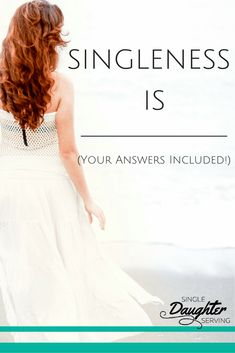 Singleness Is - Singleness may be difficult, burdensome, unwanted. But it's all about perspective. Changing how you see your season of singleness can change how you live. It's All About Perspective, Living Single, My Love Story, Single And Happy, Single Women, Single Ladies, Christian Women, No One Loves Me, Formal Dresses