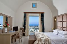 Bedroom with a view to die for