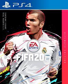 "Zidane on the FIFA 20 ""Ultimate edition"" cover Andrea Pirlo, Zinedine Zidane, Juventus Fc, Ea Sports Fifa, Fifa Soccer, Basketball, Ronald Koeman, Neymar, Eden Hazard"