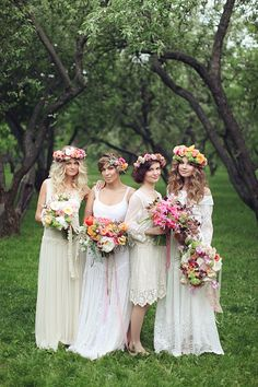 Bohemian Bridal Ideas