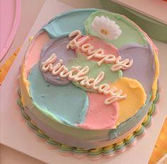 Mini Cakes, Cupcake Cakes, Simple Cake Designs, Pastel Cakes, Pinterest Cake, Beautiful Birthday Cakes, Fun Baking Recipes, Dream Cake, Just Cakes