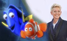 8) Finding Nemo - Ellen Degeneres for #findingnemo 2 titled Finding Dory 2015!!! Yayyyy!