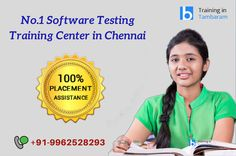 Want to becoming a software Tester, Learn #softwareTesting #Training form real-time Institute like #Besantechnologies. Further details reach us @ +91-9962528293