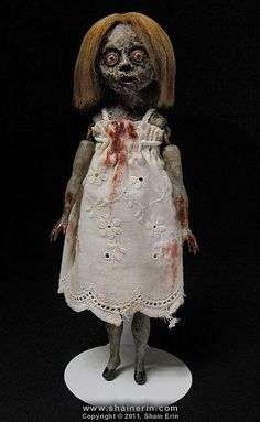 Zombie doll. Now that is creepy