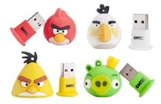 I would have thought that people would be sick of Angry Birds by now. I guess not, seeing as how these Angry Birds USB drives by EMTEC have arrived. Angry Birds, Pen Drive Usb, Usb Flash Drive, Chuck Norris, Drive Angry, More Cute, Tech Gadgets, Nerdy, Geek Stuff