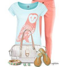 """""""Owl Contest 1"""" by angkclaxton on Polyvore"""