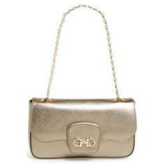 Salvatore Ferragamo 'Paris Chain' Saffiano Leather Shoulder Bag - product - Product Review