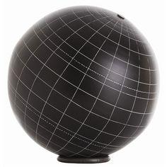 Gaia Aluminum Table Globe