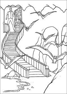 Batman Fargelegging for barn. Tegninger for utskrift og fargelegging nº 16