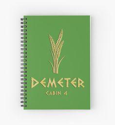 Cabin 4- Demeter Cuaderno de espiral