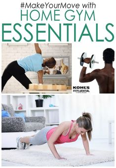 #MakeYourMove with these home gym essentials.