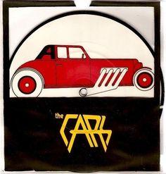 THE CARS My Best Friend's Girl Vinyl 7 Inch Elektra K 12301 1978 Picture Disc