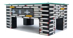 VHS Tape Coffee Table on Etsy, $2,109.70