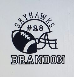 American Football Player Silhouette Black Vinyl Art Wall Decal - Custom car decals houston   how to personalize
