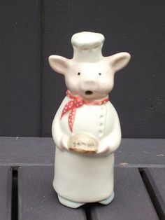 Love the pig pie funnel by Stuart Bass