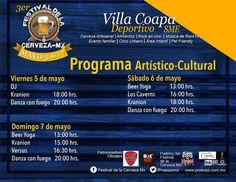 El tercer Festival de la Cerveza de la CDMX llenará de sabor al Deportivo SME en Villa Coapa con un evento gastronómico y cultural para toda la familia, acompañado de