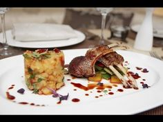 Food Plating. Food Decoration - Plating Garnishes - Food Arts - Food Presentation - YouTube