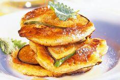 Das Rezept für Feigen-Pancakes mit Ahornsirup mit allen nötigen Zutaten und der einfachsten Zubereitung - gesund kochen mit FIT FOR FUN