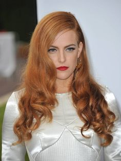 long red wavy hairstyle
