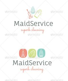 Buy House Cleaning Service Logo by pixelsandcream on GraphicRiver. Simple playful logo for a house cleaning or Maid service business. Files included are EPS, AI, easily eitable text. Cleaning Service Logo, Cleaning Company Logo, Cleaning Flyers, Cleaning Icons, Cleaning Quotes, Cleaning Companies, House Cleaning Services, Cleaning Business, Diy Cleaning Products