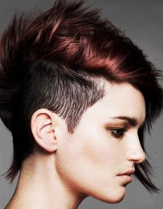 Find another beautiful images Teens Short Punk Hairstyles HD Pics at http://womenshairstylestrend.com