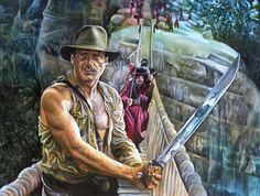 Indiana Jones by davidbrooker.deviantart.com on @deviantART