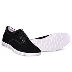 6235632553dd84 TopoutShoes - UK black height lift shoes men casual sneaker shoe elevator  height 6cm   2.36