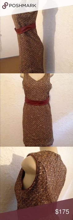 Dolce & Gabbana tweed dress *44 Tweed dress by Dolce & Gabbana. Size 44. Just in time for fall/winter. Dolce & Gabbana Dresses Midi