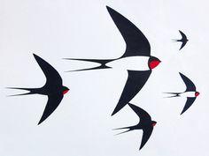 vogel grafisch -