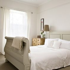 Master bedroom | Step inside a renovated farmhouse in West Yorkshire | housetohome.co.uk | Mobile